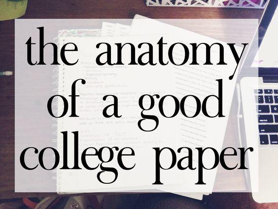 college paper